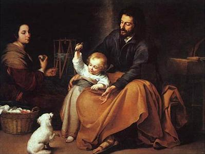 Murillo: La sagrada familia